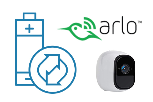 Arlo battery operated wireless cameras